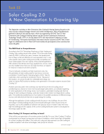 Task 53: Solar Cooling 2.0 A New Generation Is Growing Up